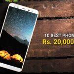 10 mejores teléfonos por debajo de Rs.  20.000 lanzados en 2017