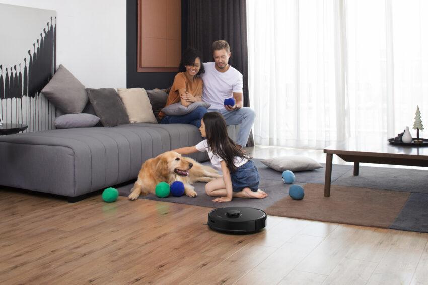 Los niños, las alfombras y las mascotas no son un problema para las capacidades de limpieza del S5 Max.