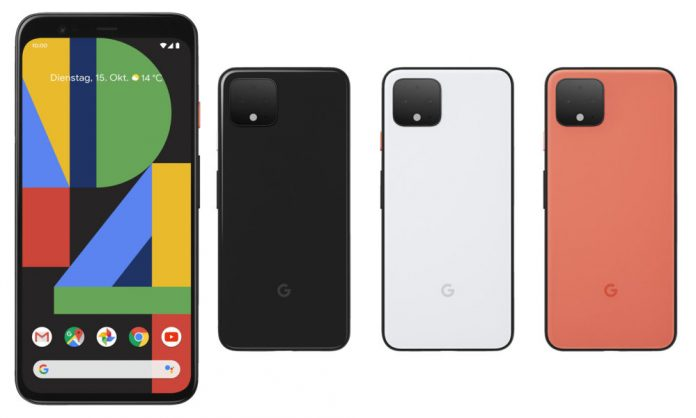 Fecha de lanzamiento, precio e información de envío de Google Pixel 4