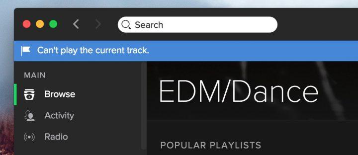 Cómo solucionar problemas y errores de transmisión de Spotify.
