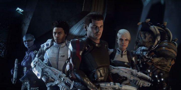 El equipo de Mass Effect Andromeda.