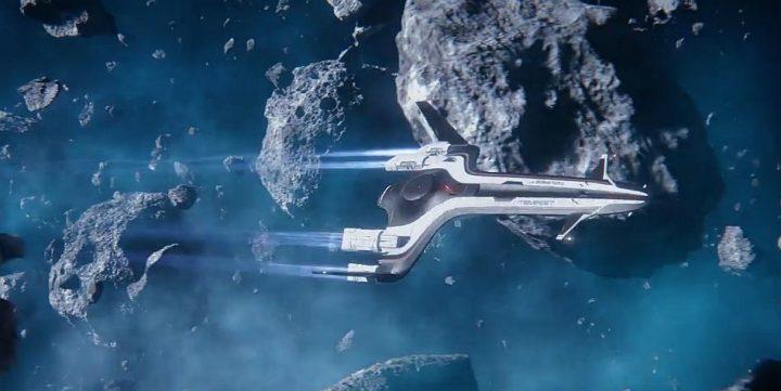 La tempestad en Mass Effect Andromeda.