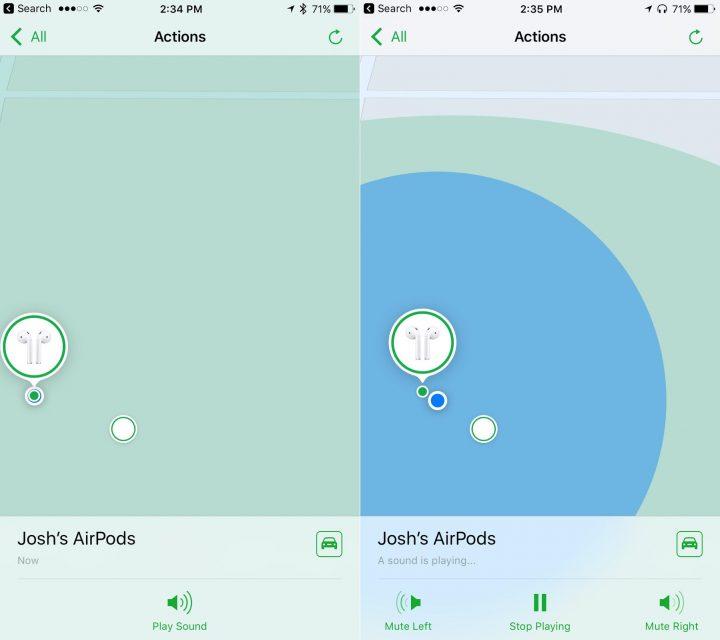 Find My AirPods es una nueva función en iOS 10.3