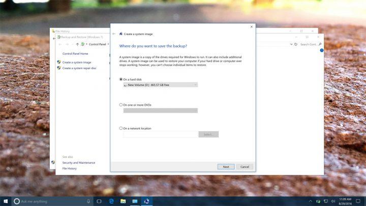 Cómo hacer una copia de seguridad completa de su PC con Windows 10 y Windows 8.1 (8)