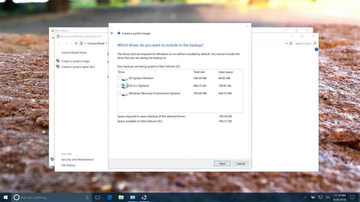 Cómo hacer una copia de seguridad completa de su PC con Windows 10 y Windows 8.1 (9)
