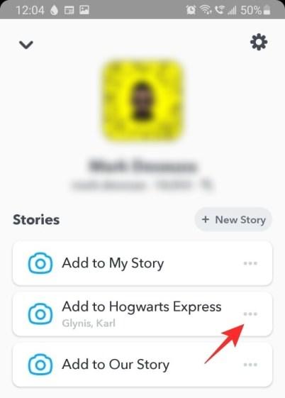 Snapchat Namn