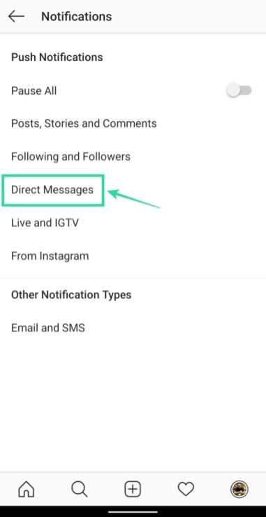 Cómo dejar de ser agregado a grupos en Instagram-5-a