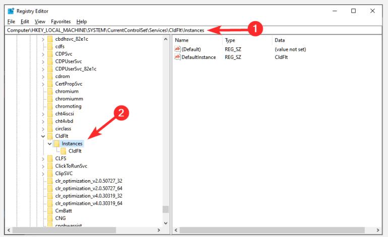 OneDrive no se puede conectar al error de Windows