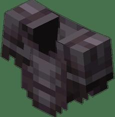 Peto de Minecraft Netherite