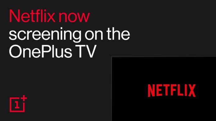 Netflix en OnePlus TV