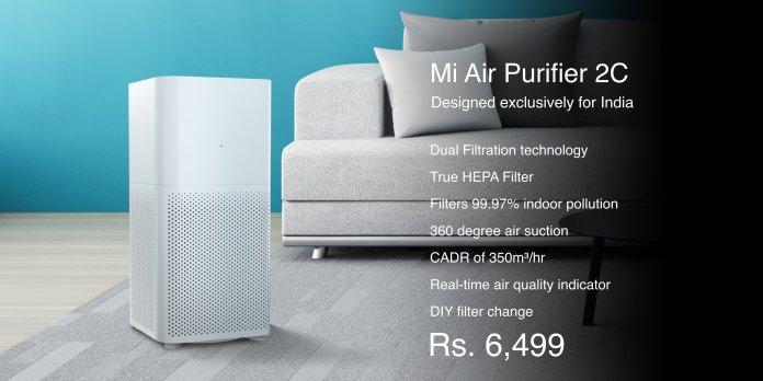Características de Mi Air Purifier 2C
