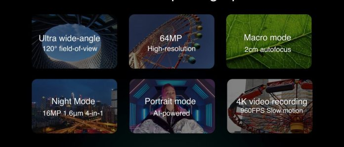 Características de la cámara trasera Redmi Note 8 Pro