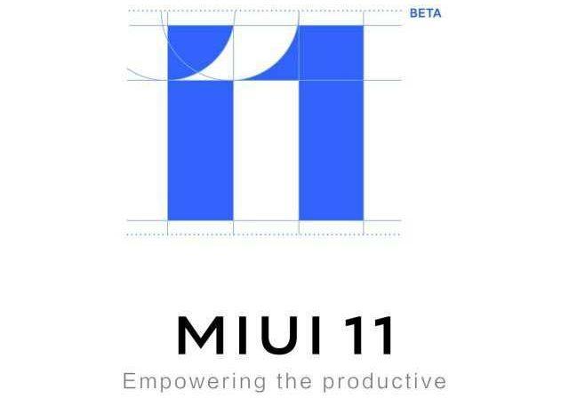 Logotipo de MIUI 11