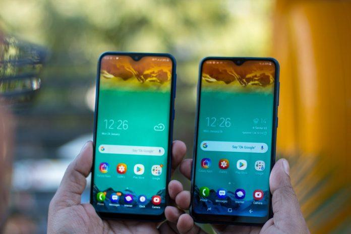 Samsung Galaxy M10 y Galaxy M20 con pantalla Infinity-V lanzados en India