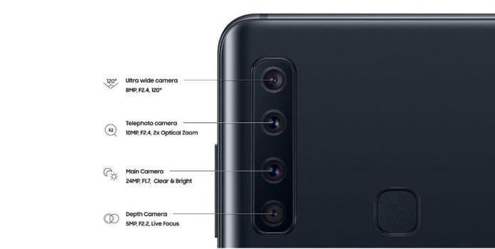 Samsung Galaxy A9 (2018) debuta con la primera configuración de cámara cuádruple del mundo