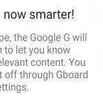 Gboard está trabajando en un botón de búsqueda más inteligente que transforma el logotipo de acuerdo con la sugerencia de contenido
