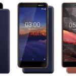 Nokia 5.1, Nokia 3.1 y Nokia 2.1 enumerados en el sitio web oficial de India, nuevamente