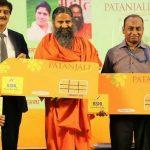 Patanjali Regístrese con BSNL para lanzar tarjetas SIM Swadeshi Samriddhi