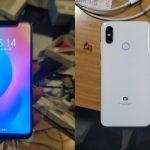 Las imágenes de Xiaomi Mi 7 se filtran en línea, confirma la muesca de pantalla ancha y la configuración de la cámara trasera doble