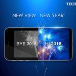 Tecno lanzará un nuevo teléfono con pantalla de vista completa centrado en la cámara el 18 de enero