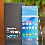Samsung Galaxy Note 7 configurado para regresar como teléfono reacondicionado