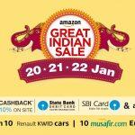 Las mejores ofertas de descuento de Amazon Great Indian Sale en teléfonos inteligentes y otros dispositivos