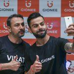 Gionee Ropes en Virat Kohli como embajador de su marca