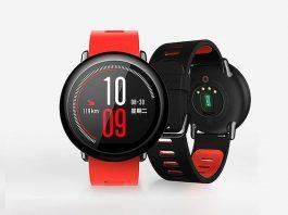 Reloj inteligente Xiaomi Amazfit con sensor de frecuencia cardíaca y GPS lanzado
