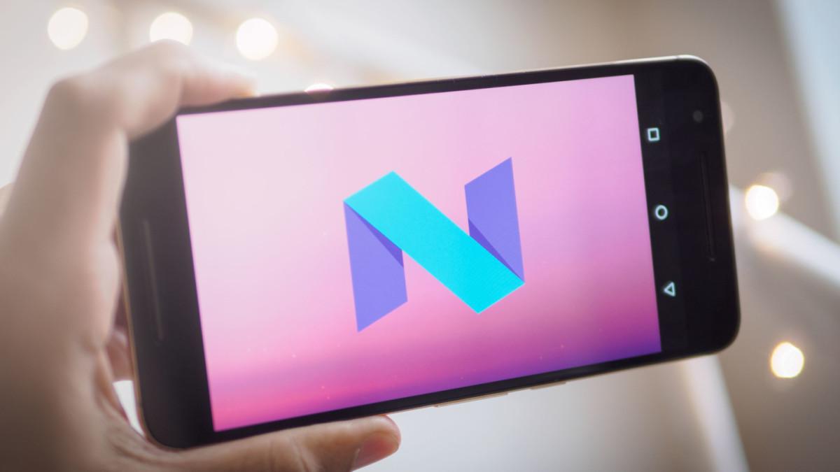 Toque sensible a la presión de Android-N