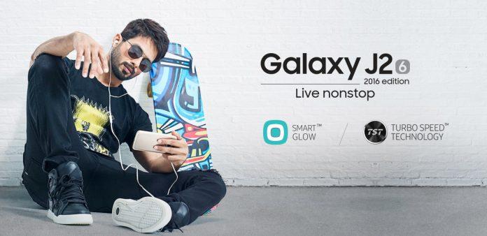 Samsung Galaxy J2 (2016) y J Max se lanzaron a 9,750 INR y 13,400 INR