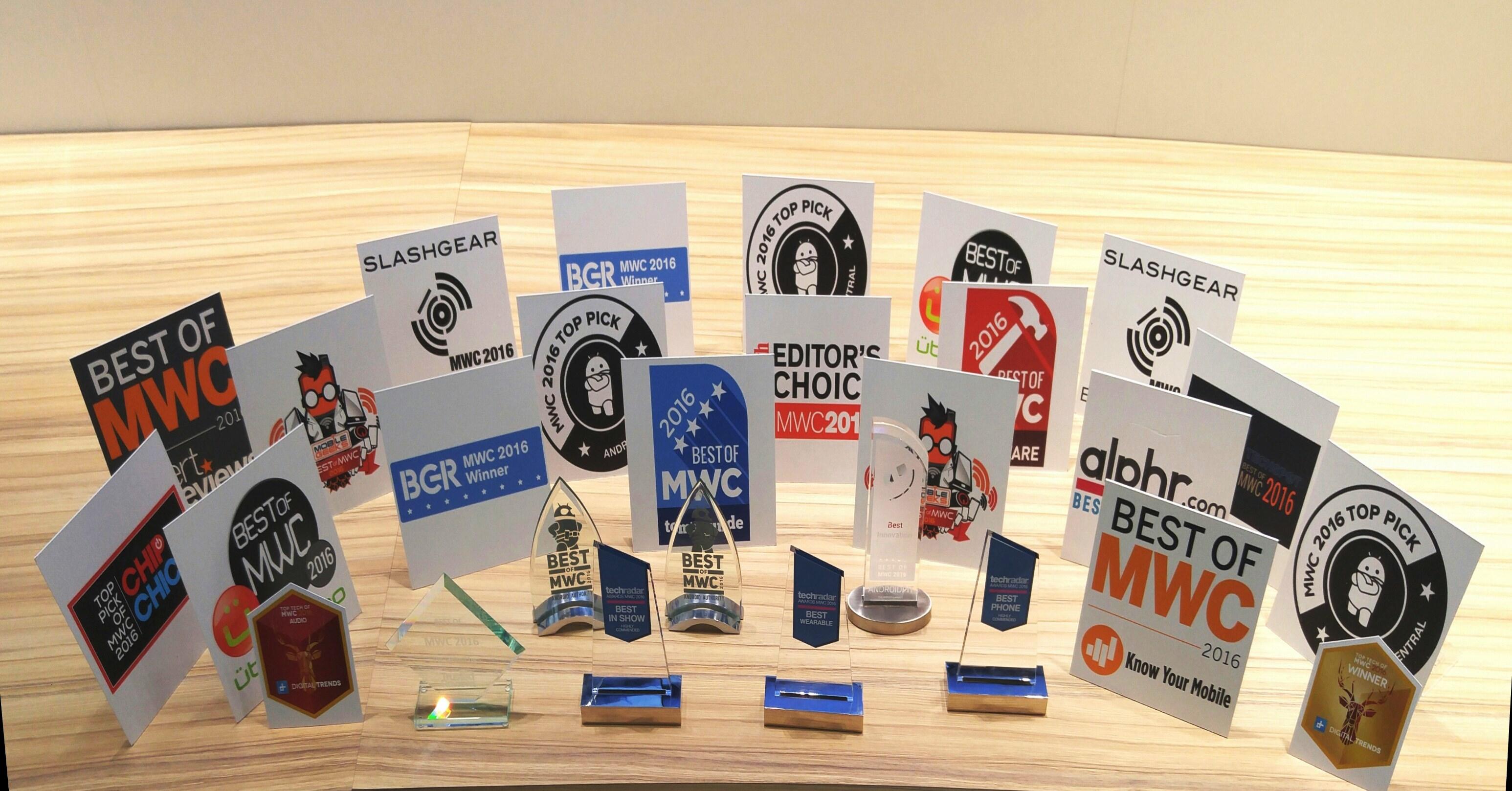 Premios LG en el MWC