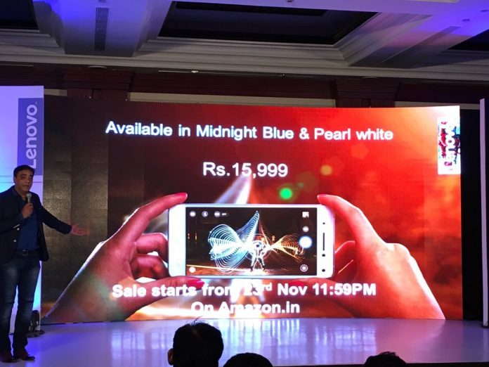 Lenovo Vibe S1 con cámaras Selfie duales lanzado en India a 15.999 INR