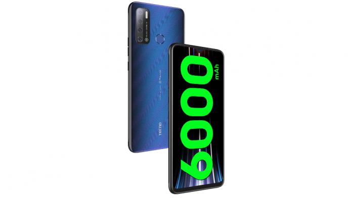 TECNO Spark Power 2 Air con batería de 6000 mAh y pantalla de 7 ″ lanzada en India