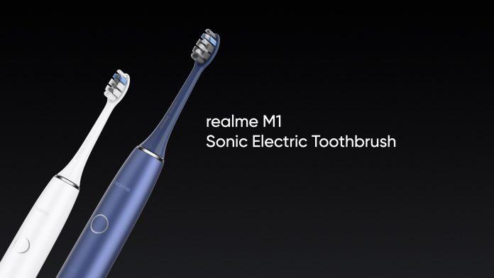 Cepillo de dientes eléctrico sónico Realme M1 con cuatro modos, carga inalámbrica lanzado en la India: precio, disponibilidad
