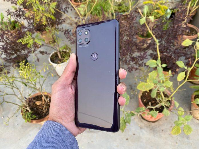 Revisión de Moto G 5G