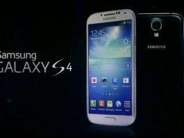 Samsung Galaxy S4: Barras elevadas en capacidades de teléfonos inteligentes