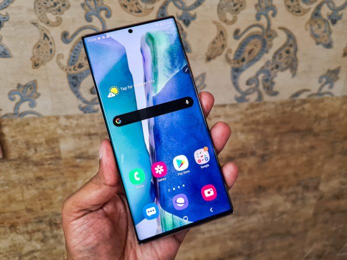 Samsung Galaxy Note 20 Ultra es el primer teléfono con una pantalla LTPO de frecuencia de actualización dinámica