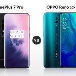 OnePlus 7 Pro VS Oppo Reno: Comparación de especificaciones