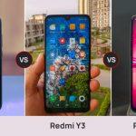 Redmi Note 7 vs Redmi Y3 vs Realme U1 Comparación: precio y especificaciones