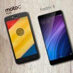 Comparación de teléfonos: Redmi 4 vs Moto C Plus