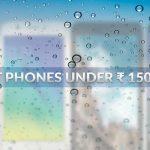 Los 7 mejores teléfonos con menos de Rs 15000 en India (septiembre de 2017)