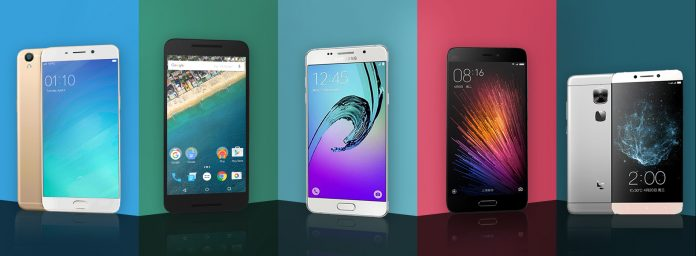Los 5 mejores teléfonos inteligentes que puede comprar por menos de 25.000 INR (julio de 2016)