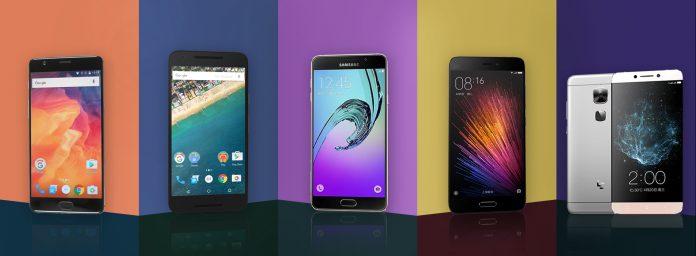 Mejor teléfono inteligente con menos de 30.000 INR en India (julio de 2016)