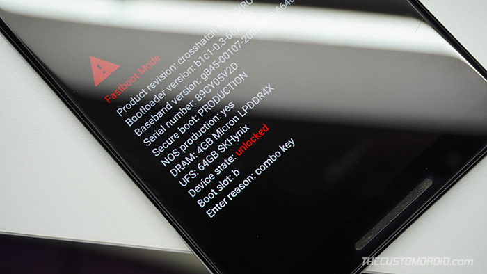 Para rootear Android 11, primero desbloquea el cargador de arranque de tu teléfono