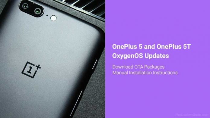 Download OnePlus 5/5T OxygenOS Updates and Installation Guide