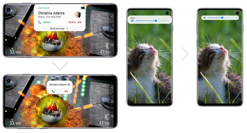 Samsung One UI 2.0 en Galaxy Note 9 - Notificaciones minimizadas