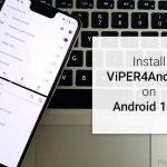 Cómo instalar ViPER4Android en Android 11 / Android 10 Q (método alternativo)