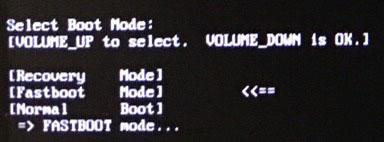 Desbloquear realme 3 Pro Bootloader - Modo Fastboot