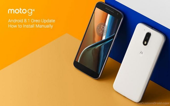 Instale Android estable 8.1 Oreo en Moto G4 / G4 Plus (OTA y TWRP)