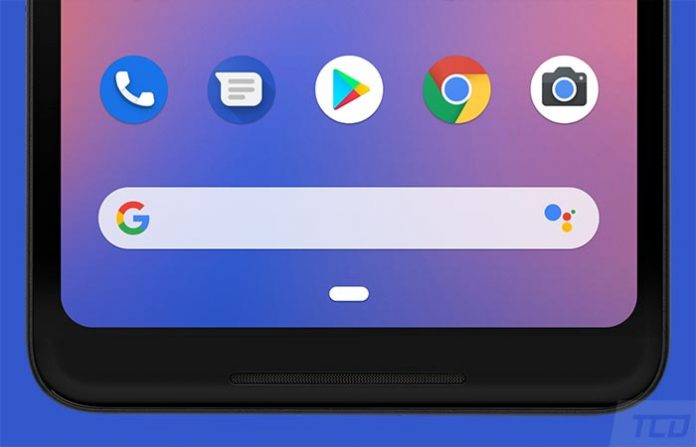 Download Google Pixel 3 Launcher with Assistant Shortcut on Search Bar